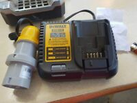 DeWalt DCB115 10.8v-12v-18v-20vXR Latest model Charger 110v Slim in World 2020