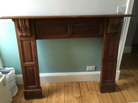Large Oak Fireplace Surround - to go ASAP!