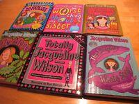 Jaqualine Wilson books x 6