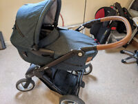 Mutsy Evo Pram/Stroller & Safe2Go Car Seat