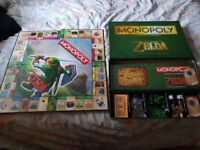 zelda limited edition monopoly board game