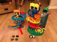 Thomas the tank helter skelter toy bundle