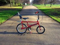 "Raleigh Chopper MKIII ""the hot one"" edition customized"