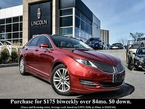 2014 Lincoln MKZ SEDAN HYBRID - BLUETOOTH - LEATHER - HEATED FRO