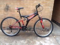Mens Dual Suspension Mountain Bike in Good Condition