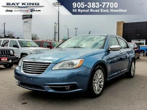 2011 Chrysler 200 LOW KM, HEATED SEATS, AUTO, PWR LOCKS