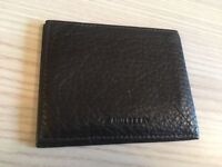 Genuine Mulberry brown leather card holder wallet, mint
