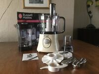 RUSSELL HOBBS FOOD PROCESSOR (CREATIONS) with blender