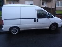 BARGAIN VERY RELIABLE CITROEN DISPATCH 3 SEATER 1.9 TURBO DIESEL PX WELCOME
