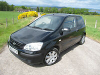 Hyundai Getz 1.1 GSi only 31,000 miles FSH ( 9 stamps ) VGC ~ Years MOT NOW £1495 ono