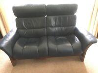 EKORNES STRESSLESS 2 x 2 Seater Leather sofas
