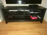 Black tv unit cabinet