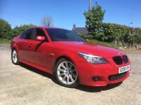 2008 Bmw 520d msport Imola red only 59000 miles
