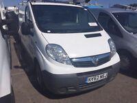 2012 Vauxhall VIVARO.1 OWNER.A/C.AIRBAG.BULKHEAD/PLYLINE.CD PLAYER.CENTRAL LOCKING.FREE WARRANTY.