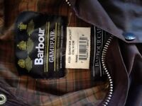 Barbour game fair wax jacket