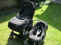 Mamas & Papas venezia pushchair forward and rear facing
