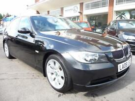 BMW 3 SERIES 3.0 325D SE 4d 195 BHP (black) 2008