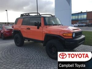 2013 Toyota FJ Cruiser LIFTED--TRD WHEELS AND TIRES--LOW KM'S