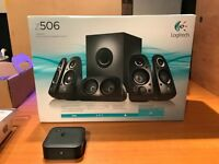 Logitech z506 5.1 Surround Sound System with 3D Stereo & Bluetooth Adapter
