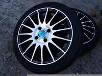 "DBV 16"" alloy wheels 4x108 Citroën Peugeot etc"