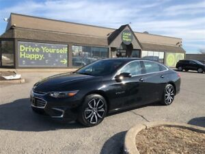 2017 Chevrolet Malibu LT / Navigation / Leather/ Sunroof