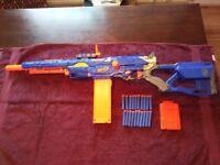 Nerf longstrike gun in good condition