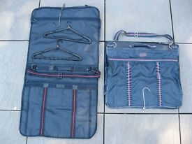 TWO HANGING / FOLDING / CARRYING SUIT COVERS