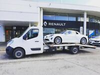 RECOVERY CAR VAN VEHICLE TRANSPORT COLLECTION DELIVERY BASED IN MANCHESTER COVERING CHESHIRE