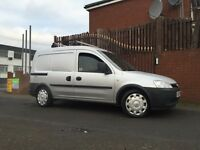 Vauxhall Combo Crew Years Mot Low Mileage Good Reliable Work Van !