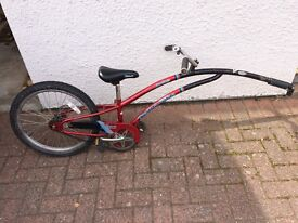 Adams Tagalong bike for sale, collection from Fort William or Inverness