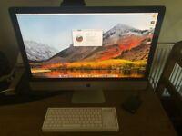 Apple iMac 27 inch 5k late 2015 fushion drive 1tb and 128ssd super fast