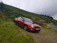2002 Subaru Impreza Wrx (rare mica red)