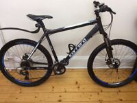 AS NEW CARRERA VENGEANCE 27.5 LIGHT WEIGHT FRONT SUSPENSION MOUNTAIN BIKE WITH DISC BREAKS