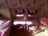 Minnie mouse bedroom bundle