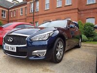 Infiniti Q70 2.2d Premium 4Dr Auto Saloon - Nearly NEW, Metallic Paint, 2016