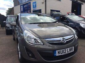 2012/12 Vauxhall Corsa 1.2 Diesel (5 Door)