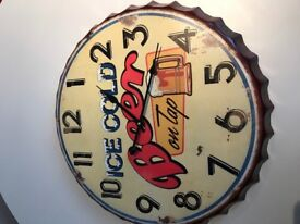 New Beer Clock unwanted gift fantastic Christmas gift