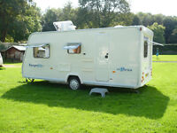 Bailey Ranger 510/4 Series 5 2007 with Bradcot Awning