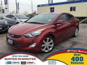 2013 Hyundai Elantra L | NAVIGATION | LEATHER | ROOF