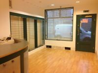 Ground floor office space in Mansfield town centre to rent