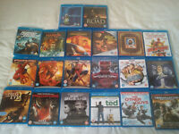 Blu-ray joblot x 20