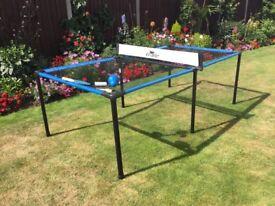 Mesh portable table tennis game