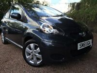 *12 MTHS WARRANTY*12 MONTHS MOT*2012 TOYOTA AYGO 1.0 VVTI-GO 3DR WITH FACTORY FITTED SAT NAV*