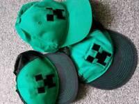 Boys Minecraft Caps