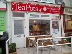 LICENSED CAFE LEASEHOLD FOR SALE - EXMOUTH