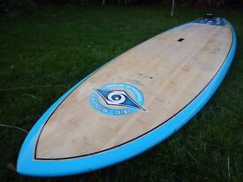 """Stand Up Paddleboard (SUP) for Surf. 9'4"""" long, 32"""" wide."""
