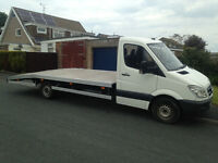 2006 mercedes sprinter 311 cdi auto lwb recovery truck dec m-o-t,ready for work £6675