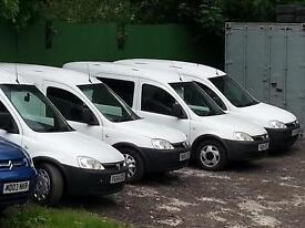 combo vans mot side loading door good runners