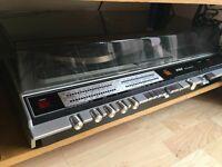 URGENT/PRICE NEGOTIATION - Vintage G&C radio, tape and vinyl player including 2 big speakers