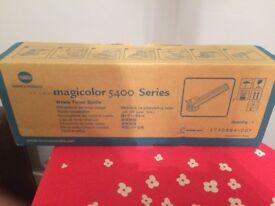 Konica Minolta Magicolor 5400 waste toner